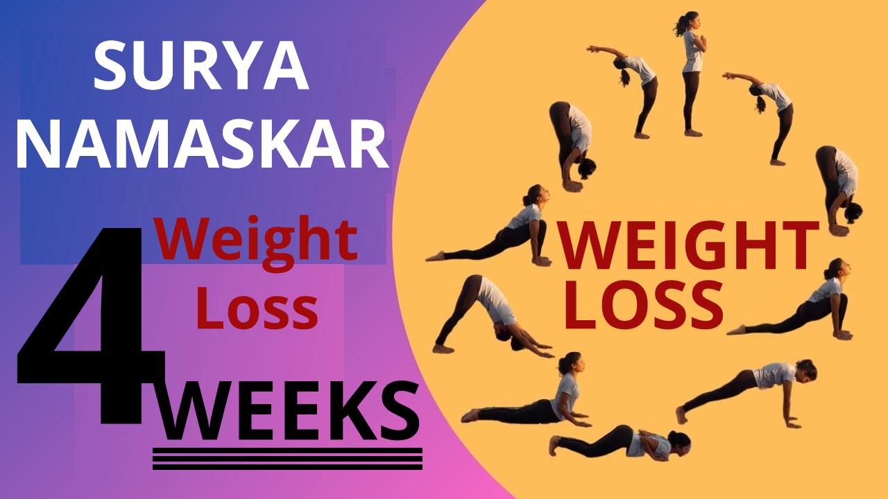 Sun Salutation Yoga for Weight Loss (Steps for Beginners)