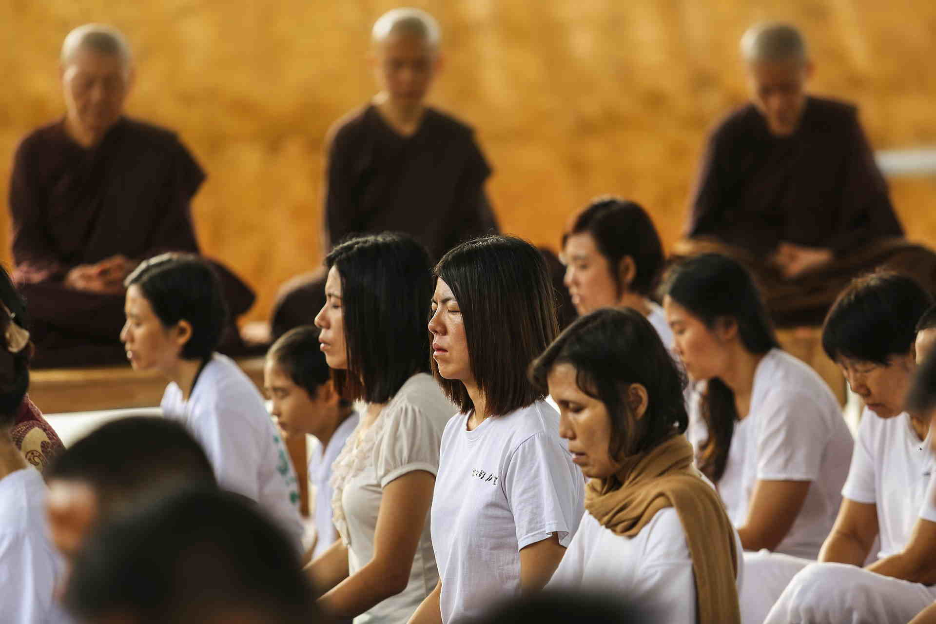 How do you meditate as a Student
